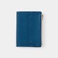 TF パスポートサイズ ペーパークロスジッパー ブルー (07100678)