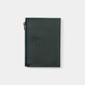 TF パスポートサイズ レザージッパーケース ブルー (07100682)