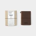 TF トラベラーズノート パスポートサイズ TO&FRO 茶(07100753)