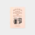 TF トラベラーズノート パスポートサイズ リフィル 誠品書店 活版 ピンク (07100766)
