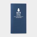 TF トラベラーズノート リフィル MFB ネイビー (07100777)
