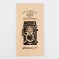 TF トラベラーズノートリフィル カードファイル 二眼レフカメラ柄(07100961)
