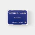 シャチハタ スタンプ台 小形 藍色 (HGN-1-B) (07150124)