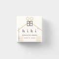 hibi 檜 レギュラーボックス 8本入 マット付 (07151021)