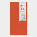 トラベラーズノート リフィル 2020 月間 (14408006)