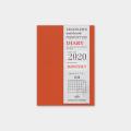 トラベラーズノート パスポートサイズ リフィル 2020 月間 (14411006)