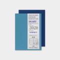 トラベラーズノート パスポートサイズ リフィル 2020 週間 (14412006)