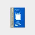 トラベラーズノート パスポートサイズ リフィル 耐洗紙(14436006)