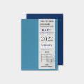 トラベラーズノート パスポートサイズ リフィル 2022 週間(14449006)