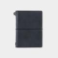トラベラーズノート パスポートサイズ 黒 (15026006)