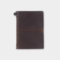 トラベラーズノート パスポートサイズ 茶 (15027006)