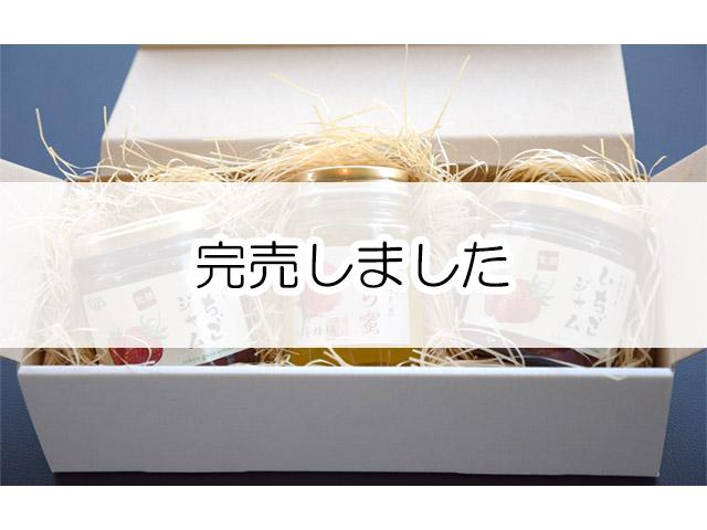 今井養蜂場の天然はちみつとtgsいちごジャムのギフトセット【B】