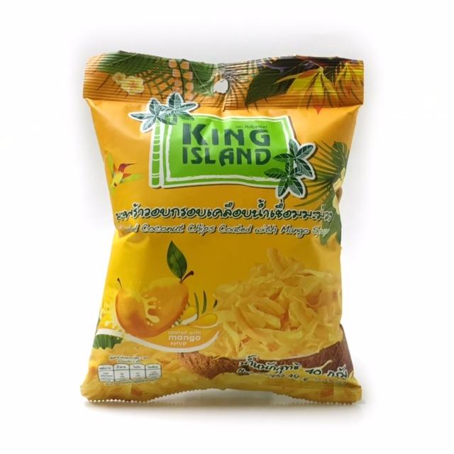 キングアイランド・ローストココナッツチップス 40g 【マンゴー味】