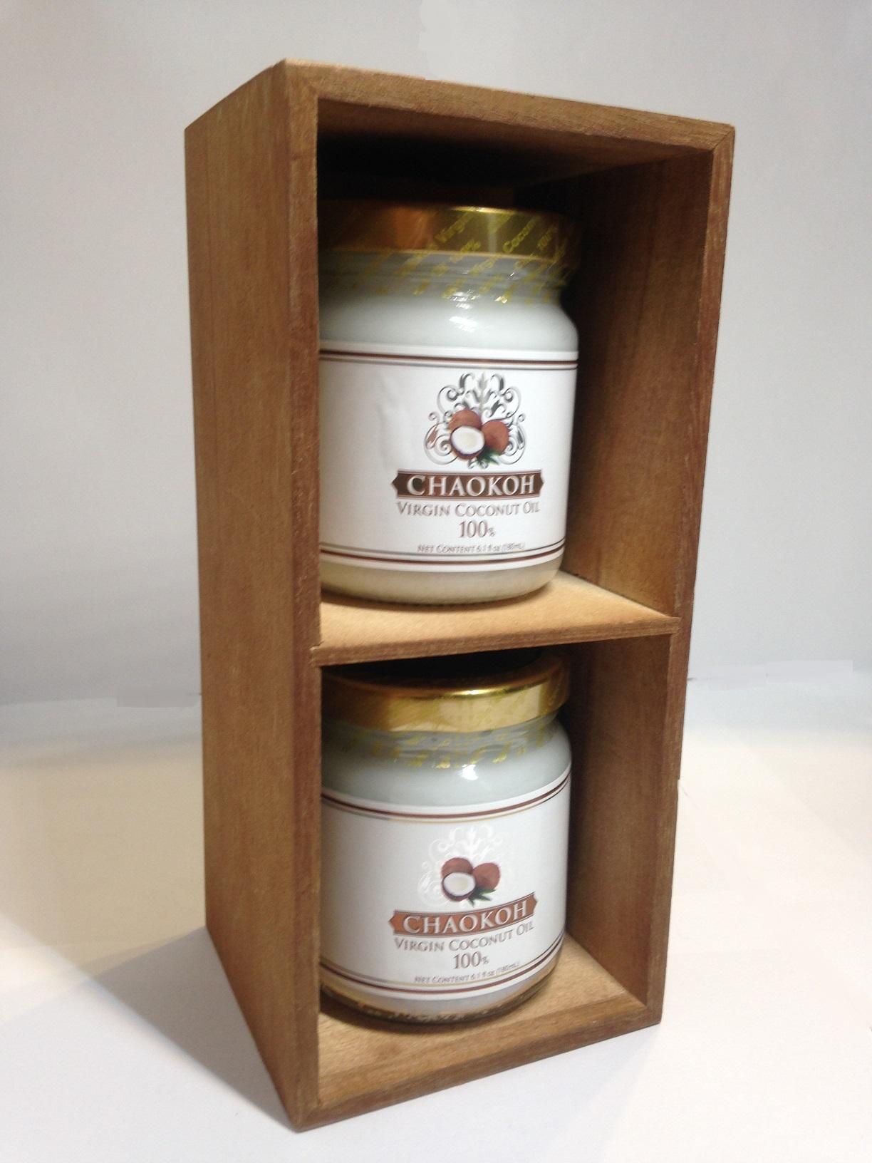 バージンココナッツオイル CHAOKOH 180ml(2個セット)