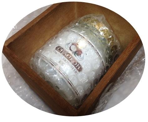 バージンココナッツオイル CHAOKOH 180ml