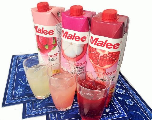 Malee 100%RedPinkセット(3種6本)