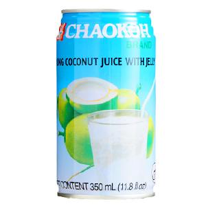 ナタデココ入り・ココナッツジュース(チャオコー)
