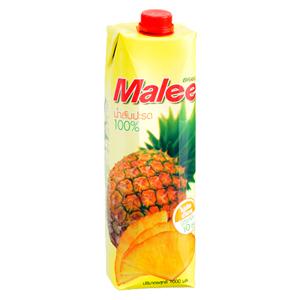 Malee 100%パイナップルジュース
