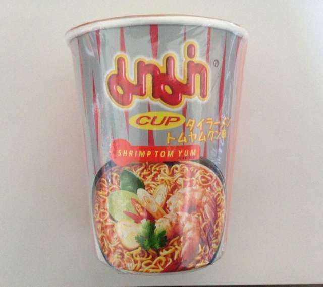 タイラーメン カップ トムヤムクン味 12個 (マーマー)