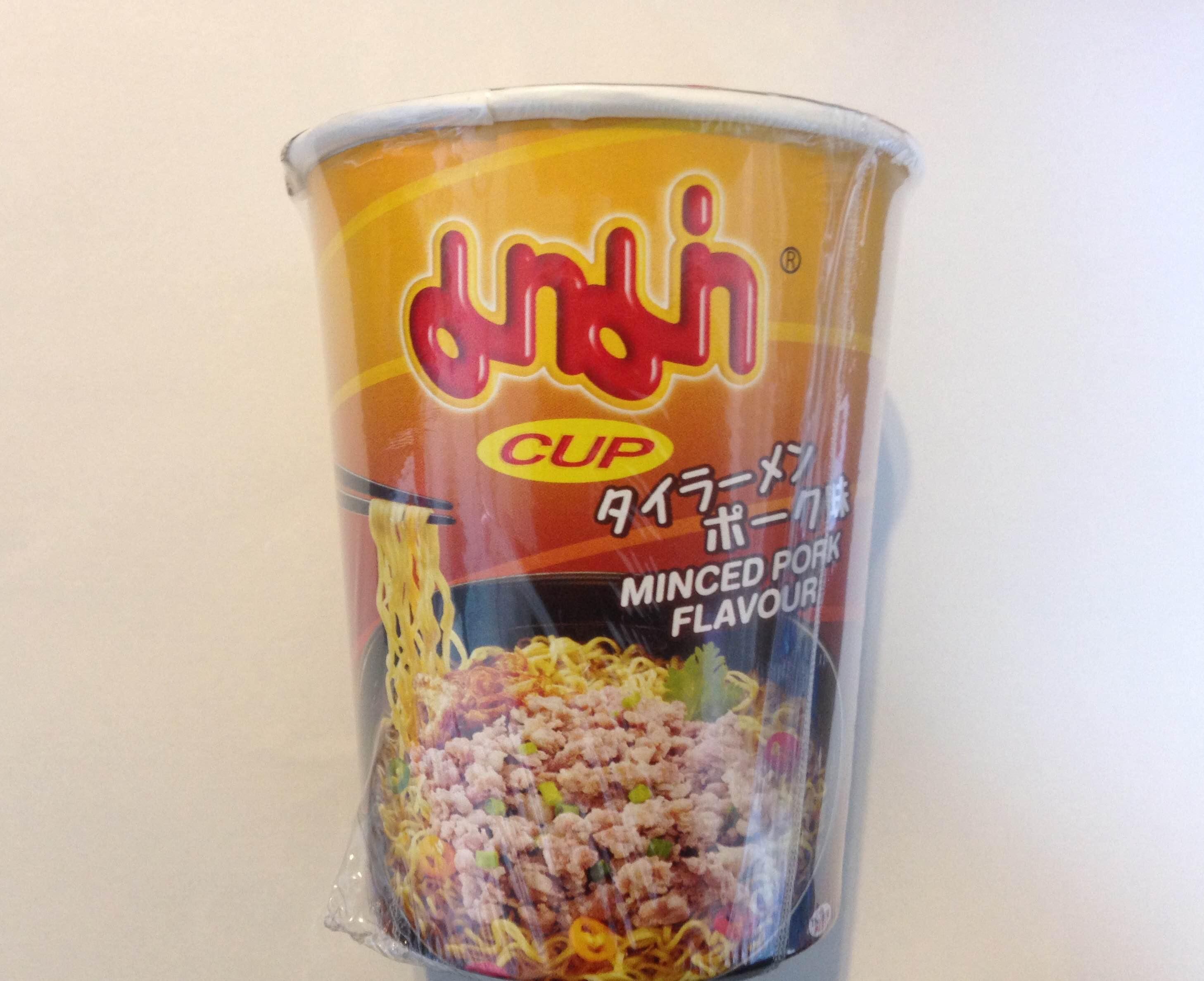 タイラーメン カップ ポーク味 12個 (マーマー)