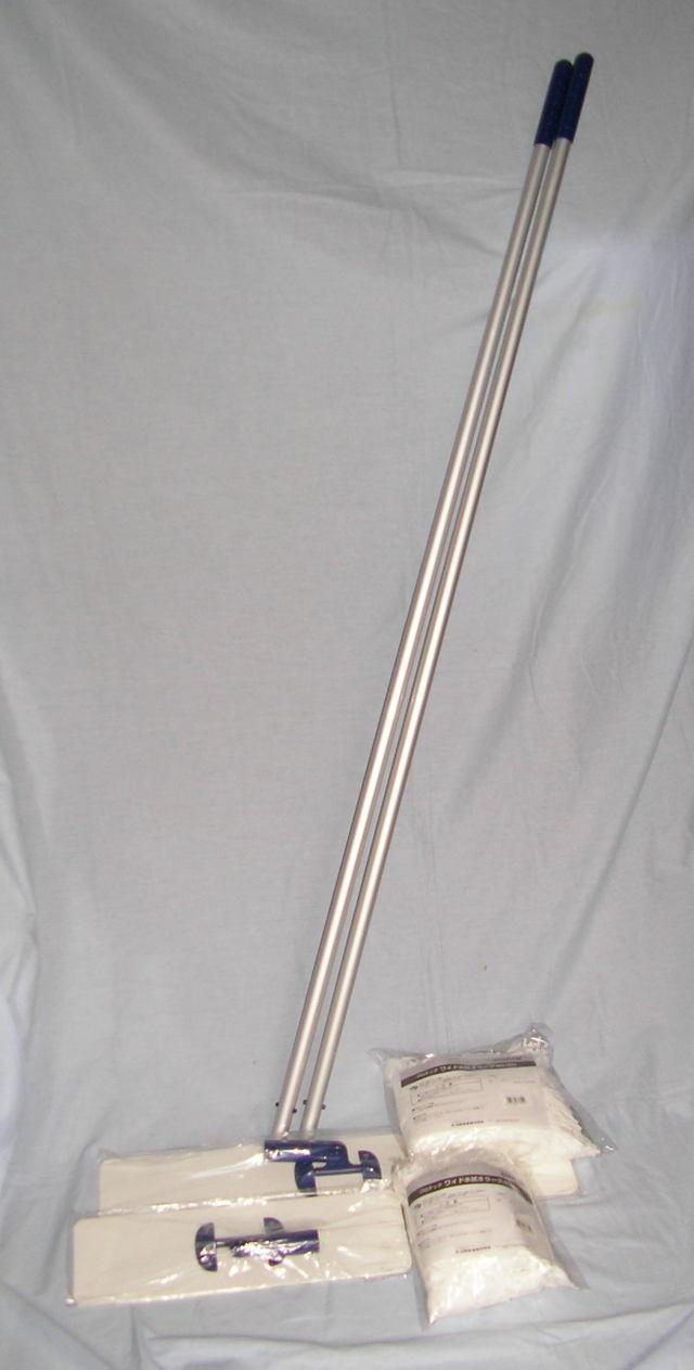 在庫処分 コンドル プロテック ワイドモップ&ワイド水拭きラーグ 60cm (C297-060U-MB)(C297-2-060X-MB)在庫限