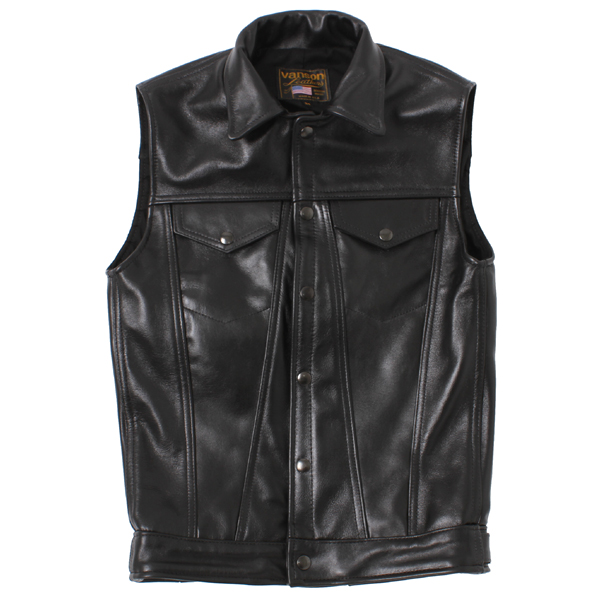 【VANSON x BACKDROP】 DJCB VEST (Black) [10218042]