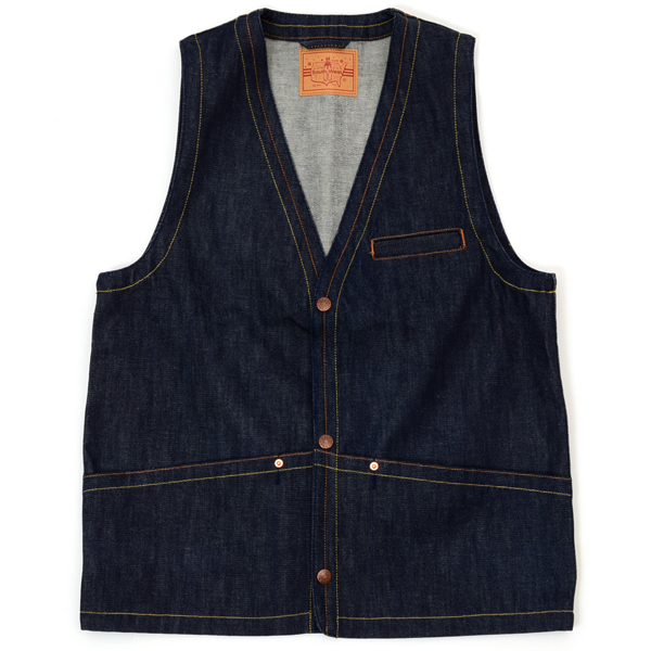 【SOUTH WEST】 THUNDER VEST (Indigo) [26001010]
