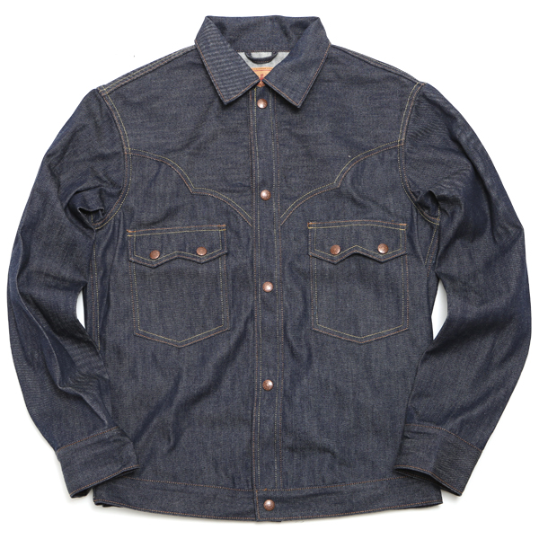 【SOUTH WEST】 DENIM YOKE JACKET (Denim) [26001007]