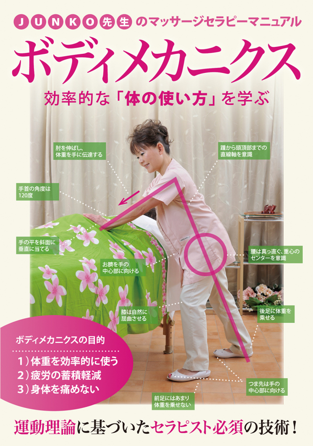 DVD JUNKO先生のマッサージセラピーマニュアル ボディメカニクス