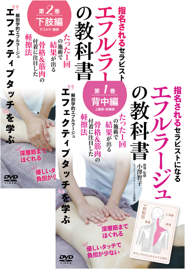DVD エフルラージュの教科書 通販限定2巻セット