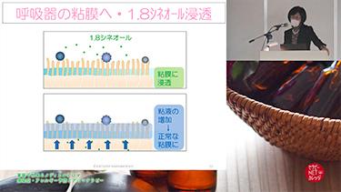 楢林佳津美の家庭で出来るメディカルアロマ 感染症・アレルギー予防とアロマテラピー