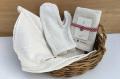 健康タオルと手袋ミトンセット (益久染織研究所)