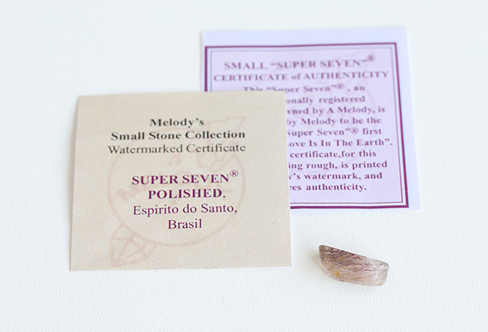 【Melody♪コレクションカード・証明書付】A.Melody♪のスーパーセブン 1      /mel 【パワーストーン,天然石】