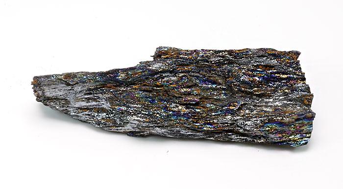 限定!ブラジル産レインボーヘマタイトの原石 [5] 【62.7×20mm】