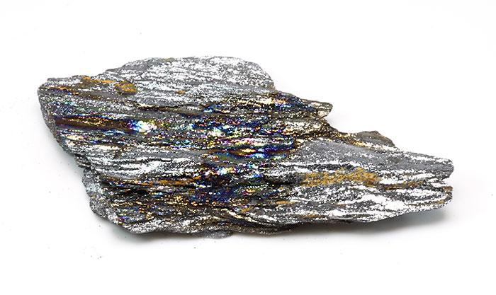 限定!ブラジル産レインボーヘマタイトの原石 [9] 【56.1×26.1mm】