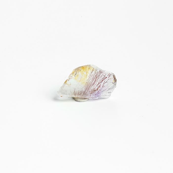GW特価!エスピリットサント産セイクリッドセブン 23.9×13.4mm   [No.14]        /mel 【パワーストーン,天然石】