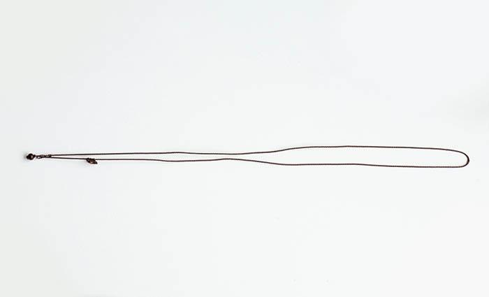 NEW!再入荷!【まくらめ編み】当店オリジナル☆まくらめ紐ネックレス   (細め)       【パワーストーン/天然石】