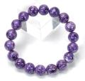 特価!限定!チャロアイトSAの10.8-11.3mmブレスレット  【0007】  sale12 bracelet
