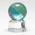 限界特価!珍品!ブルーフローライトの丸玉  26.2 mm  sale14  crystal1