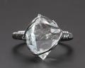ツーソン2017!限定!高品質ハーキマーダイヤモンドのリング 14.5号  【パワーストーン/天然石】