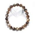 特価!ブラックサンムーンストーンSAの8.5mmブレスレット   sale14  bracelet