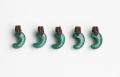 限定!グリーンアベンチュリンのSAの勾玉まくらめペンダント 20mm    ブラウンカラー   【タイプ3】         パワーストーン/天然石