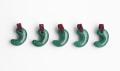 限定!グリーンアベンチュリンのSAの勾玉まくらめペンダント 30mm    パープルカラー   【タイプ5】         パワーストーン/天然石