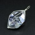 特価!限定!フレッシュパワー!ハーキマーダイヤモンドの大きめペンダント  1  【パワーストーン/天然石】