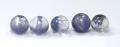 激レア☆粒5個セット!デュモルチライトインクォーツAAAの約4.1〜4.4mm 20  【パワーストーン・天然石】