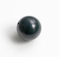 【伊勢浄化済み】 1粒販売 貴重な出雲産 青めのう(碧石) 約14.5mmビーズ    【パワーストーン/天然石】