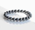 限定!最高品質ブラックダイアモンド(ダイヤモンド)SA+ランク 9.1~10.1mm   150ct  ブレスレット        5