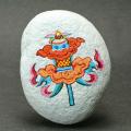限定入荷!ネパール産★神様のギフト・仏陀のシンボル【勝利の旗】  1   /4月【天然石・パワーストーン】