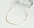 【伊勢浄化済み】真珠化学研究所鑑別書付★アコヤ貝真珠のベビーパール 4mm前後ネックレス   38cm    5