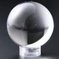 限定!特価!ヒマラヤ★ネパール産★ガネッシュヒマール水晶 丸玉 34.4mm  /4月【天然石・パワーストーン】